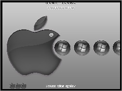 Pac Man, Apple, Windows